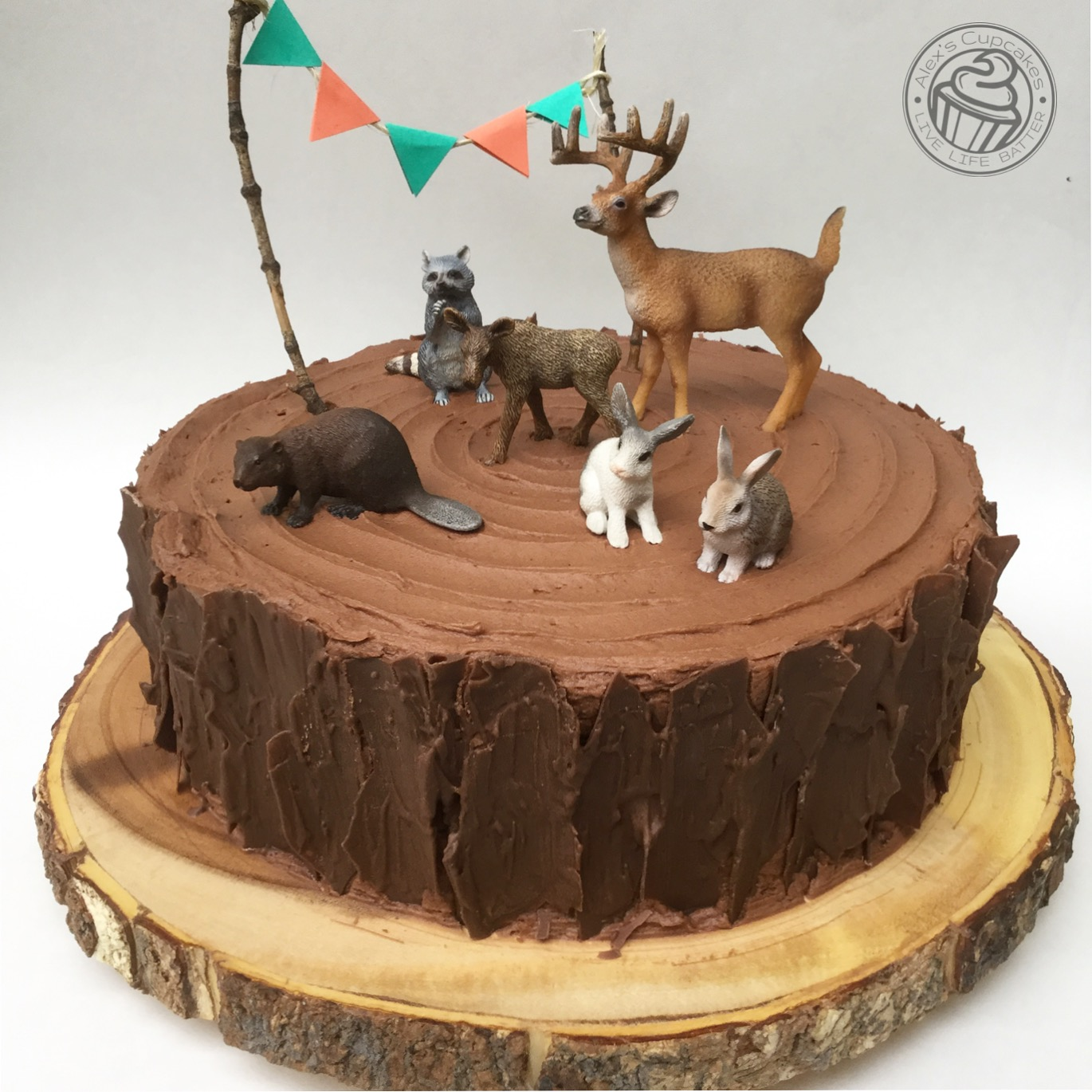 Cake Decoration Woodland Animals : Gallery - Alex s Cupcakes