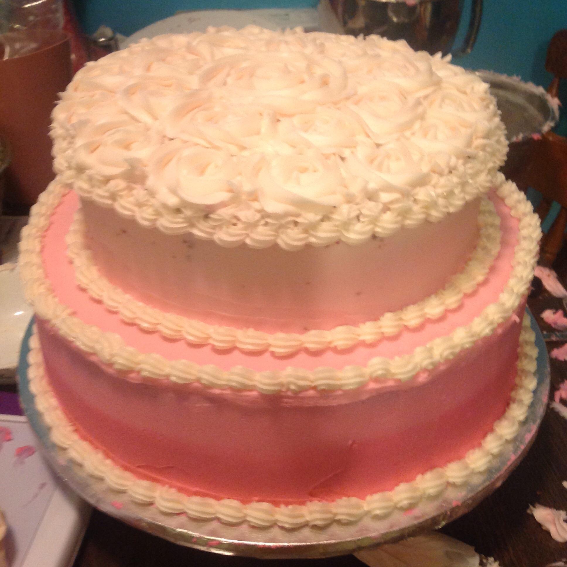 Mme Caseys Birthday Cake